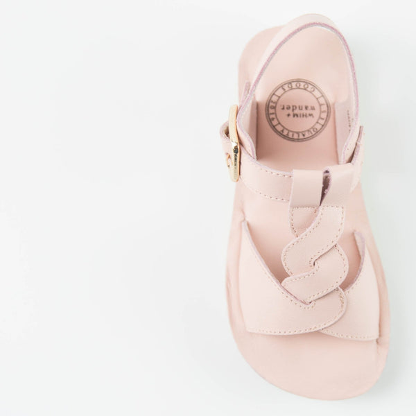 WHIM + WANDER - Sandals - Blush - FINAL SALE