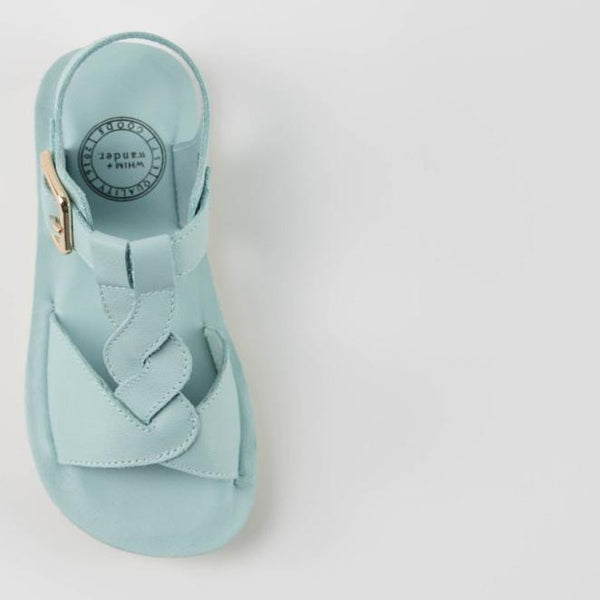 WHIM + WANDER - Sandals - Ocean Blue - FINAL SALE