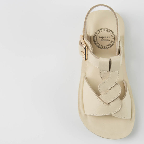 WHIM + WANDER - Sandals - Vintage Ivory - FINAL SALE