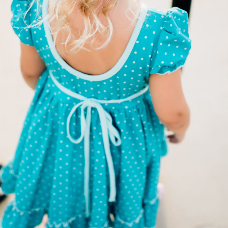 SweetHoney - Flair Dress - Going Dotty