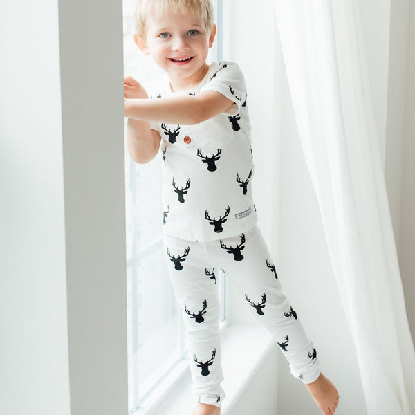 Everyday Essentials - 2-Piece Loungewear - Woodsy Deer