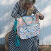 Whim & Wander - Diaper Bag - Floral For Days