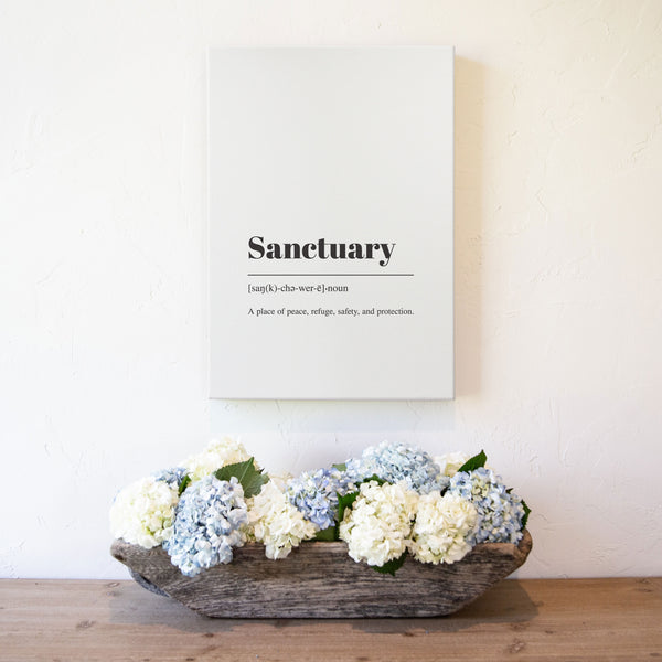 Smallwoods Meaning of the Word Sanctuary Art