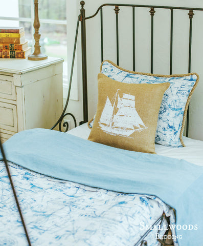 Smallwoods - PILLOW/BEDDING - New Year Sale - Smallwoods Nautical Duvet  - 1