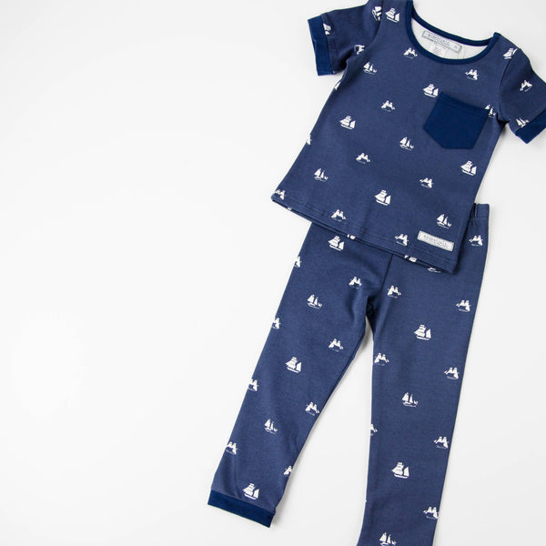 Everyday Essentials - 2-Piece Loungewear - Deep Blue Sea