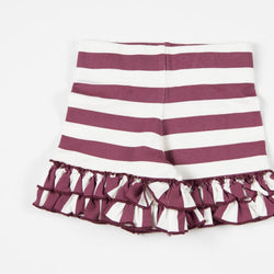 SweetHoney - Game Day Shorties - Maroon Out