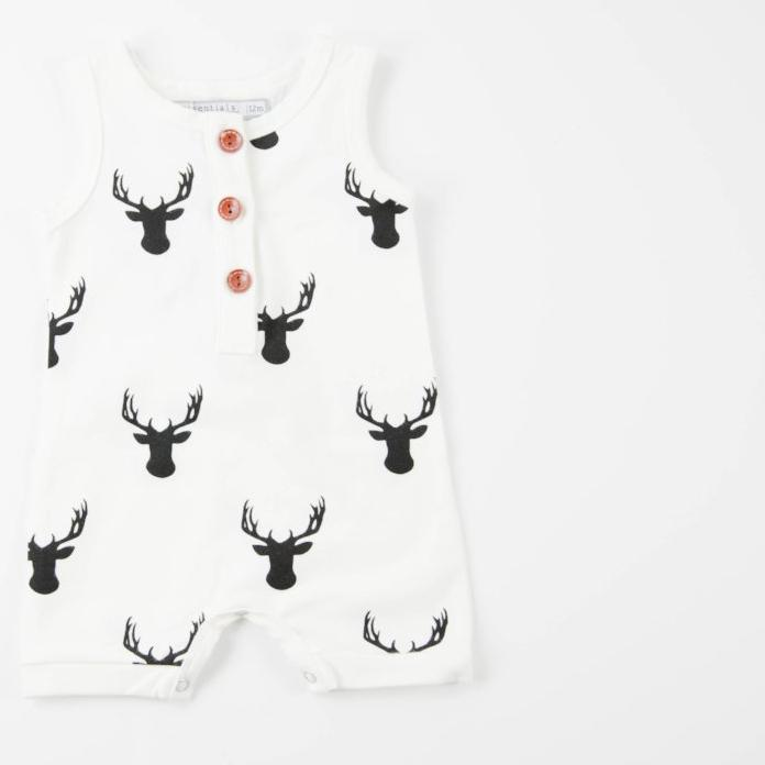 Everyday Essentials - Short-all - Woodsy Deer FINAL SALE