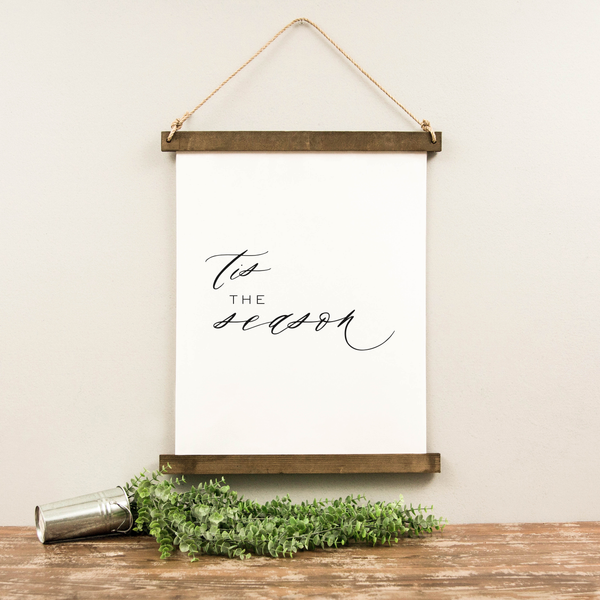 Canvas Hanging Print - Tis the Season [HOLIDAY]