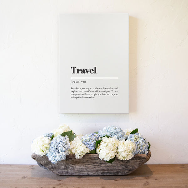 Smallwoods Travel Canvas Wall Art