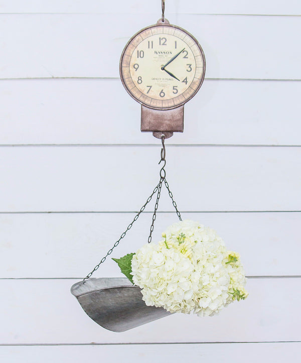 Smallwoods - Resale - Hanging Product Scale Clock  - 2