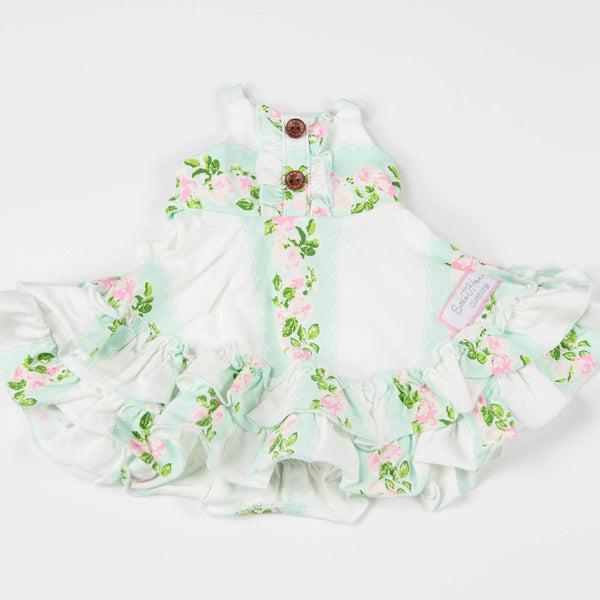 SweetHoney - Doll Dress - Floral Vine