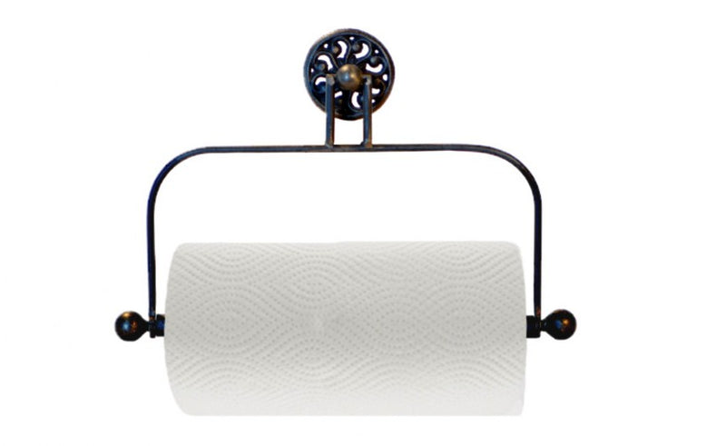 Wall-Mounted Ironwork Paper Towel Holder