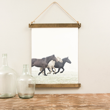 Canvas Hanging Print - Wild Horses [CLOSEOUT]