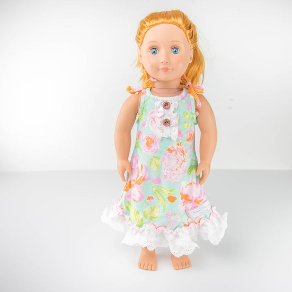 SweetHoney - Doll Gown - Tropical Splash