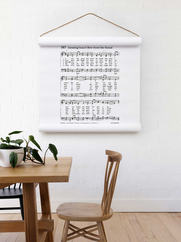 Wall Scroll - Amazing Grace - Multiple Sizes