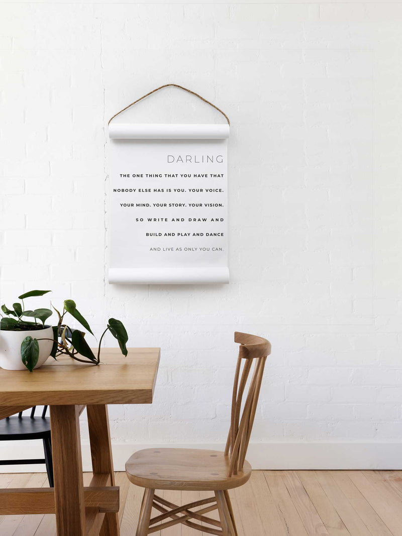 Wall Scroll - As Only You Can - Multiple Sizes