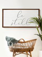 Smallwoods Be Still Wall Art Decor Sign