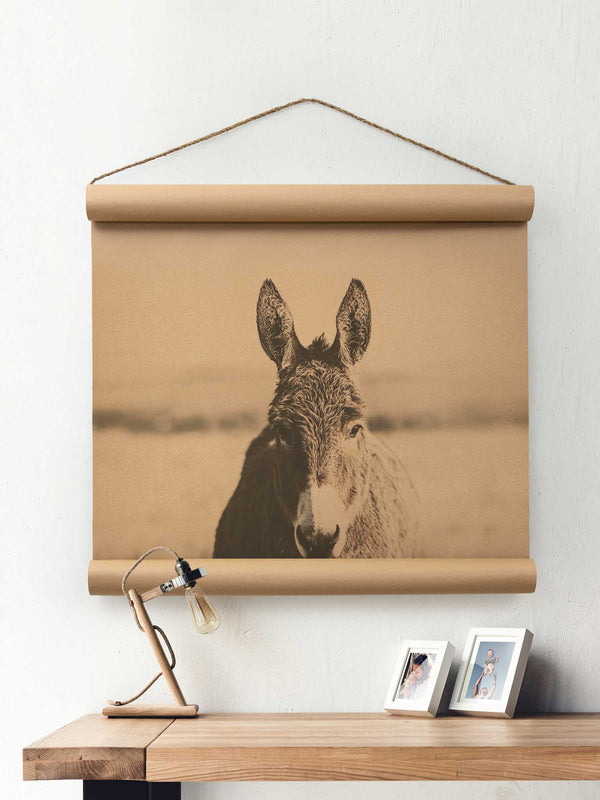 Wall Scroll - Donkey - Multiple Sizes