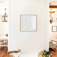 Smallwoods Forever Young Sign Square Almond