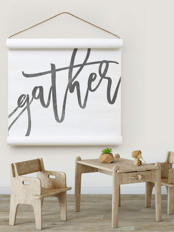 Wall Scroll - Gather [Freehand] - Multiple Sizes