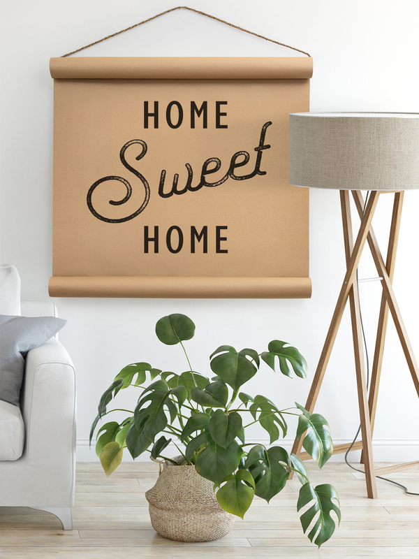 Wall Scroll - Home Sweet Home