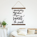 Canvas Hanging Print - How Sweet The Sound
