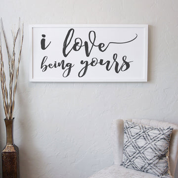 I Love Being Yours [White] [closeout]