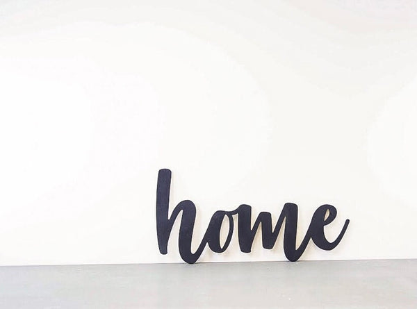 Wood Cutout - Home