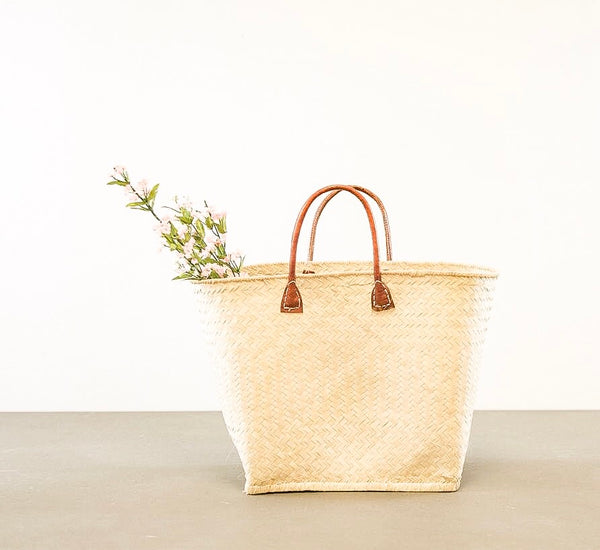 Charleston Raffia Totes - Multiple Colors