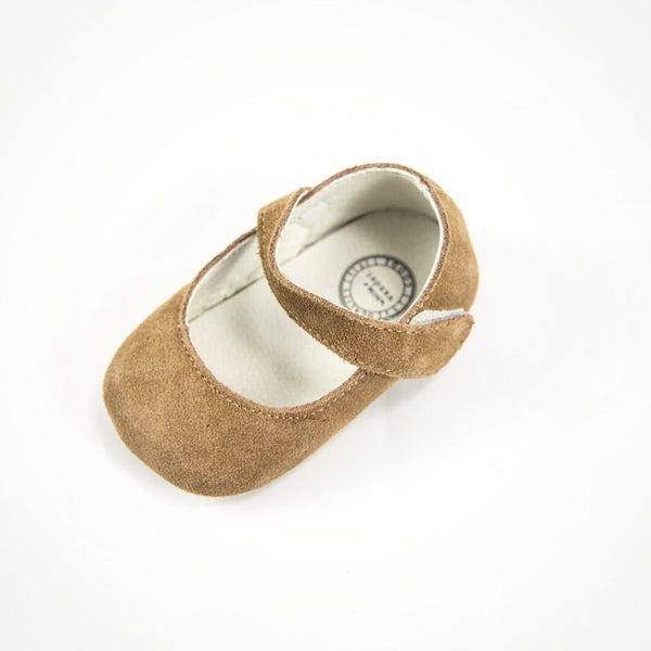 WHIM + WANDER - Mary Jane - Camel Suede