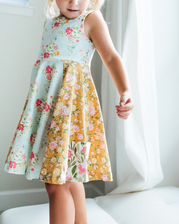 SweetHoney - Flair Dress - Cheery