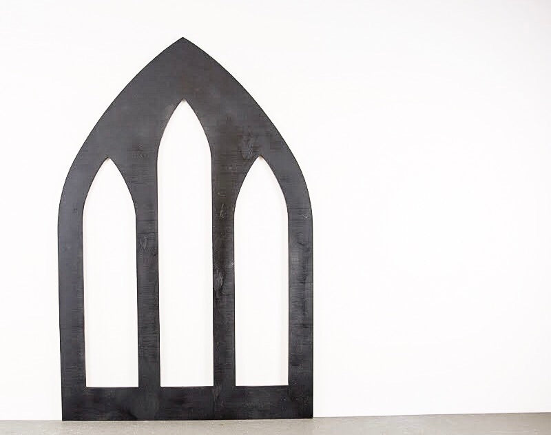 Architectural - Gothic Revival Window Frame