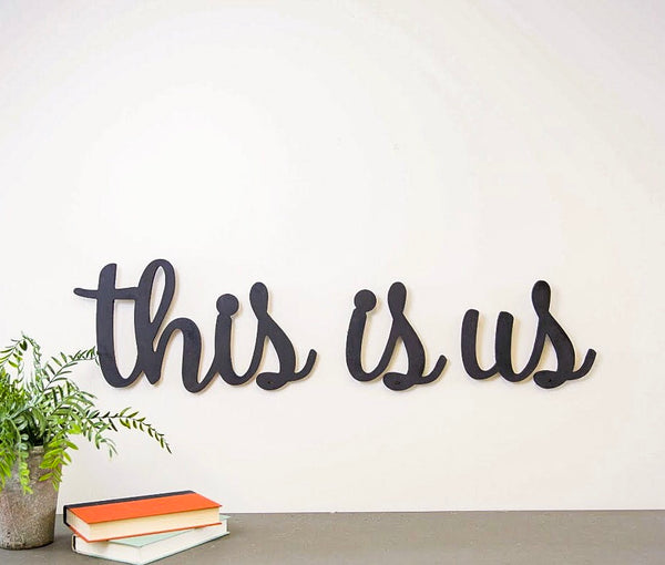 Wood Cutout - This Is Us