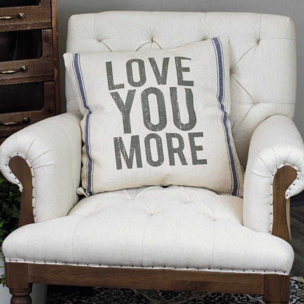 Linen Pillow - Love You More