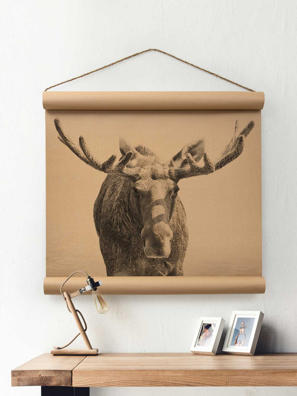 Wall Scroll - Moose - Multiple Sizes