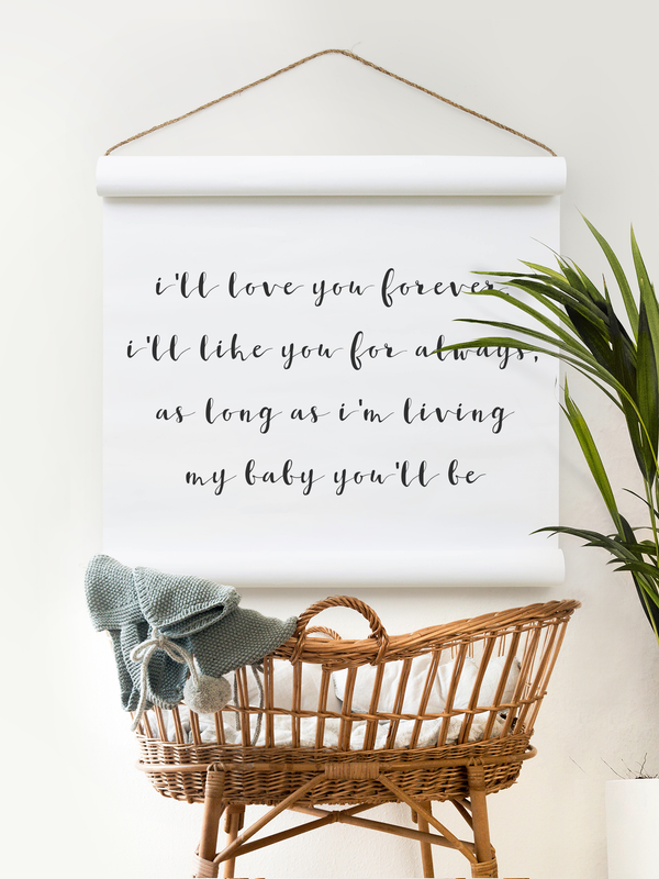 Wall Scroll - My Baby You'll Be