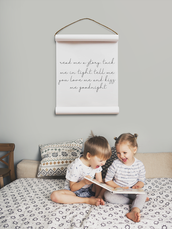Wall Scroll - Read Me A Story