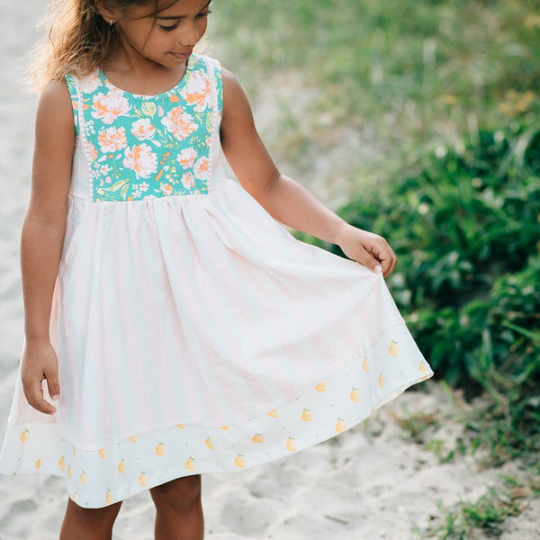 SweetHoney - Kate Dress - Frozen Lemonade
