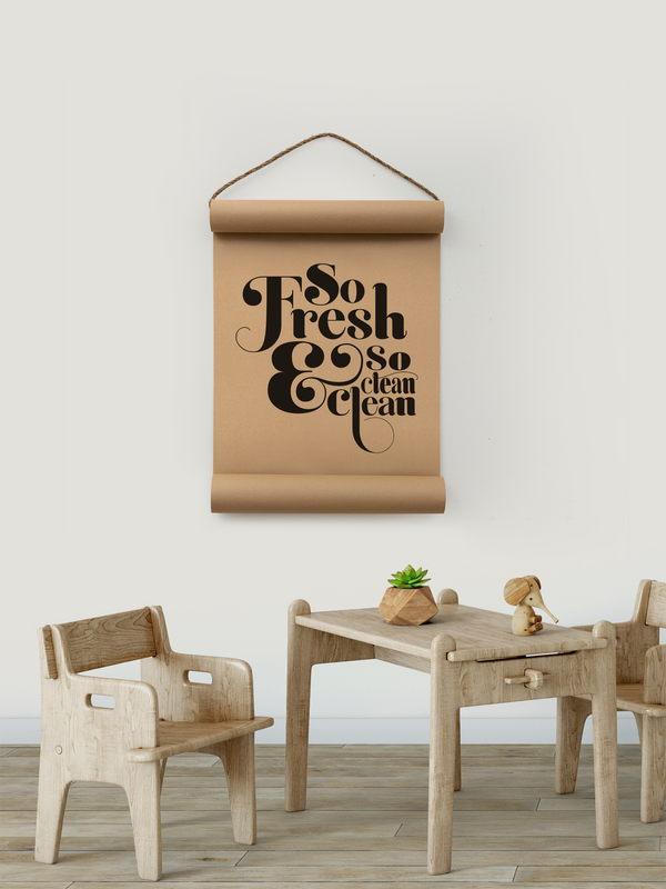 Wall Scroll - So Fresh - Multiple Sizes