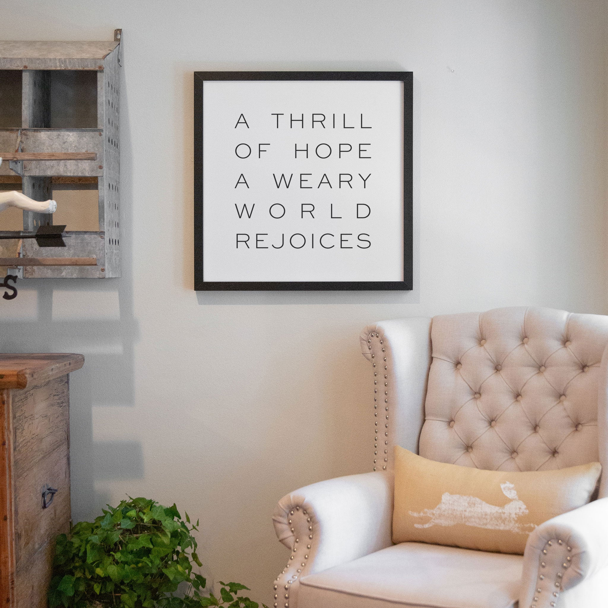 A Thrill of Hope [Block Font] | Smallwoods