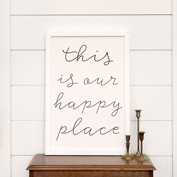This Is Our Happy Place [Closeout]