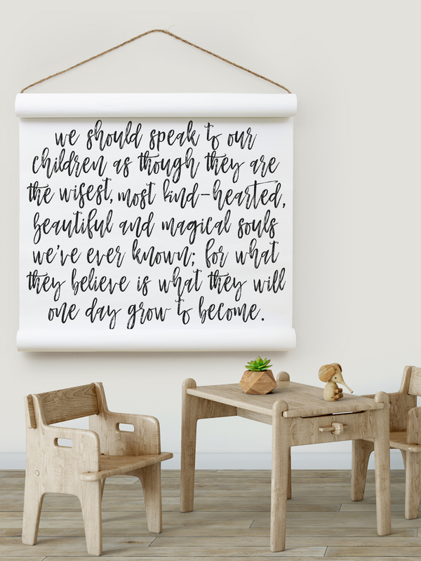 Wall Scroll - Who They Become - Multiple Sizes