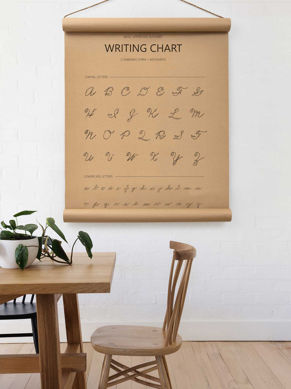 Wall Scroll - Writing Chart