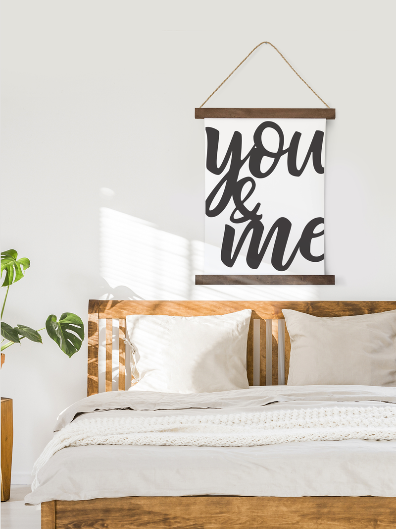 Canvas Hanging Print - You & Me