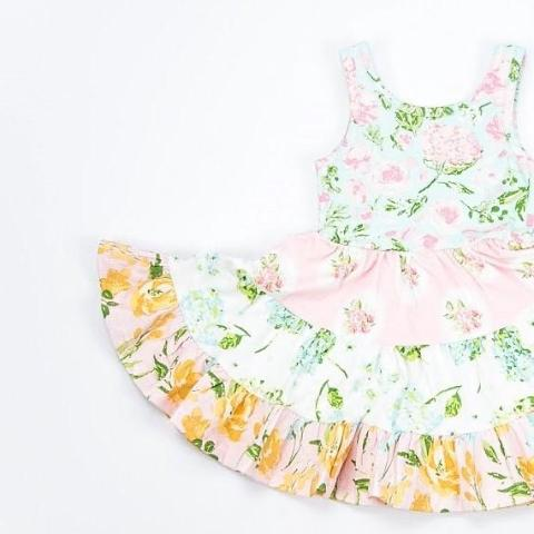 SweetHoney - Flair Dress - Easter Basket