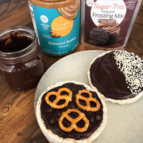 sugar free nutella chocolate nut butter spread almond butter