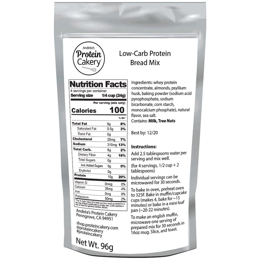 Low Carb Protein Bread Mix