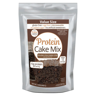 Protein Cake Mix - Double Chocolate Chip
