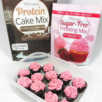 Sugar-Free Frosting Mix - Strawberry