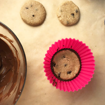 Recipe - Protein Cookie Dough Chocolate Cups